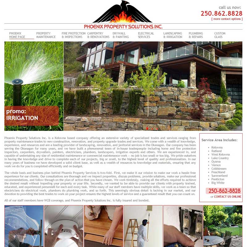 Phoenix Property Solutions Home Page
